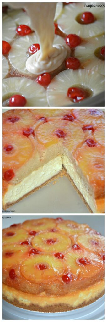 pineapple upside down cake and cheesecake