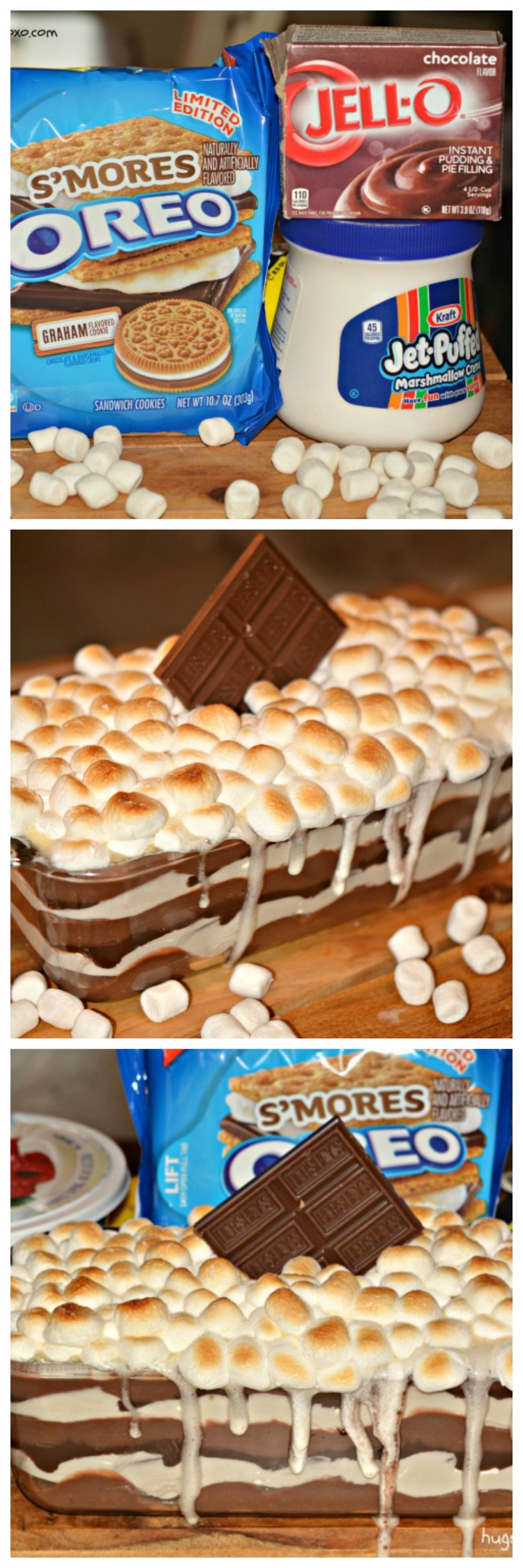 S'mores Cookie Lasagna - Hugs and Cookies XOXO