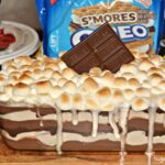 S'mores Cookie Lasagna