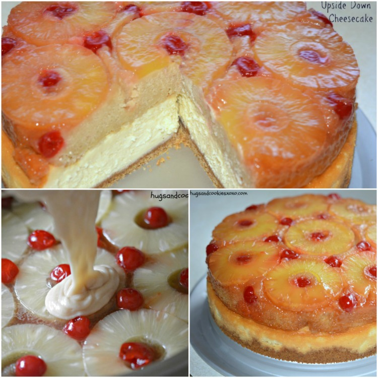 Pineapple Upside Down Cake adapted from Sally's Baking Addiction