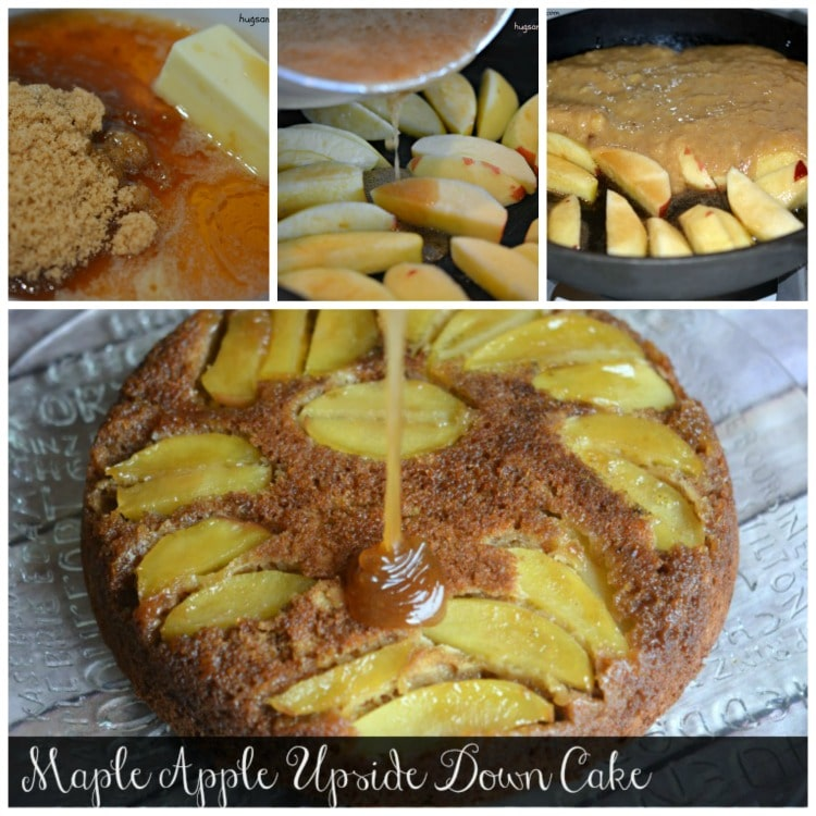apple cake upside down