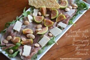 Arugula, Fig and Parmiagiano Reggiano Salad