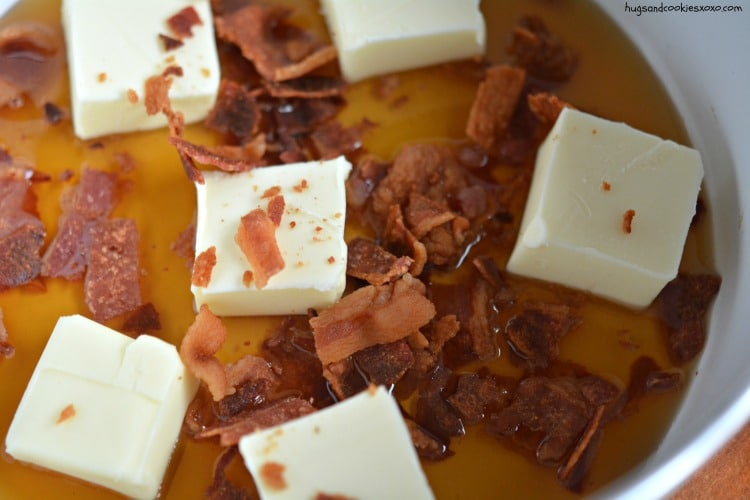 bacon syrup butter