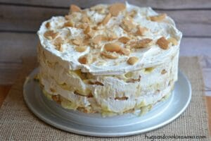 Banana Ice Box Cake