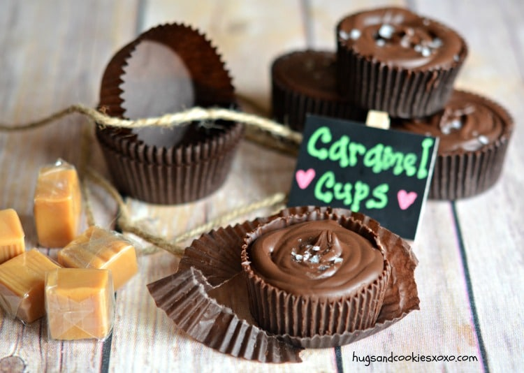 chocolate caramel cups