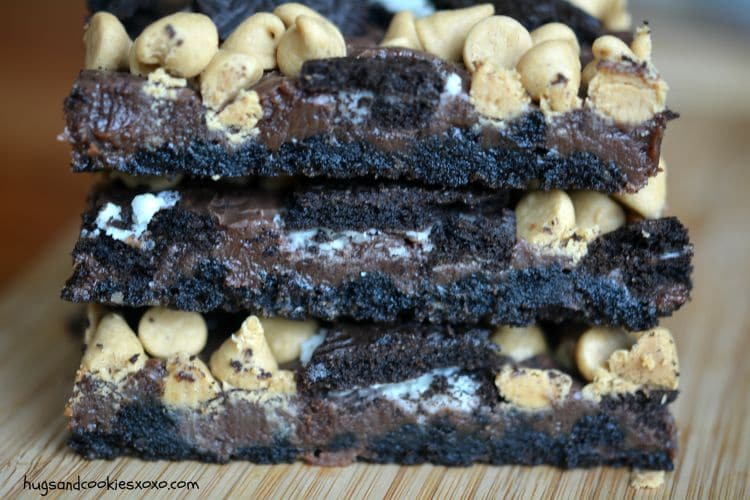Loaded Oreo Peanut Butter Bars | Peanut Butter Bars, Best Bar and Oreo