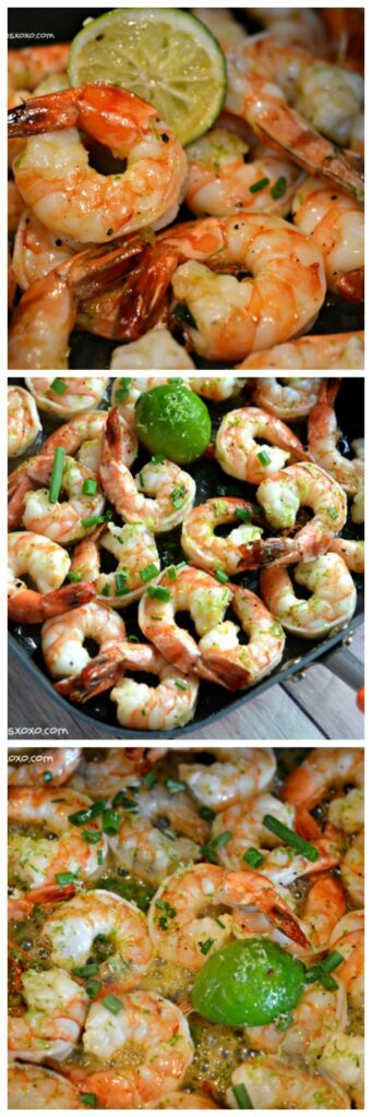 honey lime grill shrimp