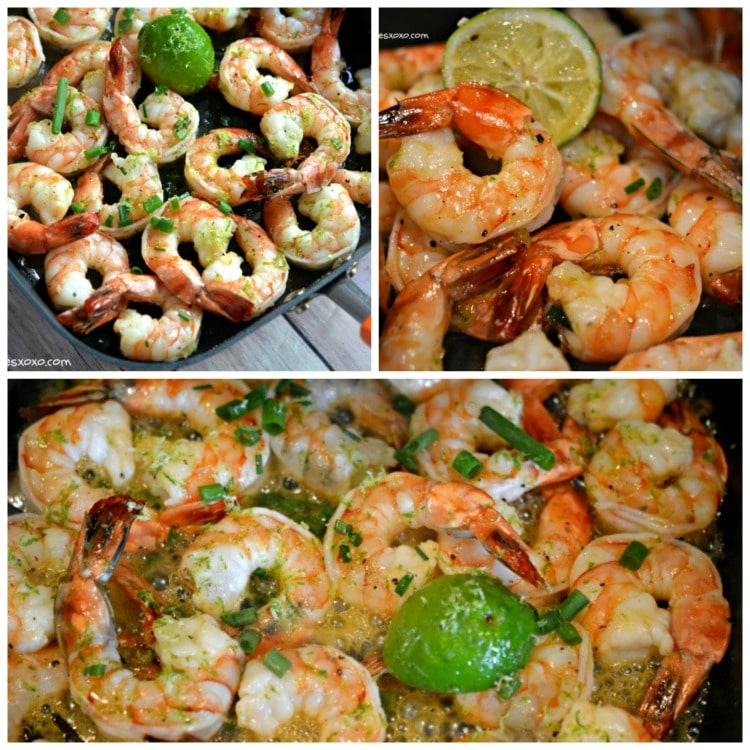 honey lime shrimp grilled