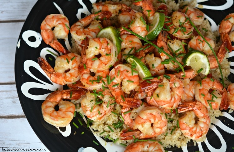 honey shrimp lime garlic
