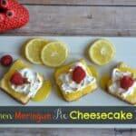 Lemon Meringue Pie Cheesecake Squares