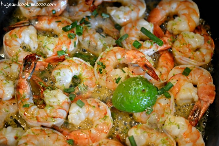 lime honey shrimp