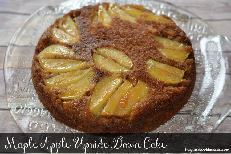 maple apple cake