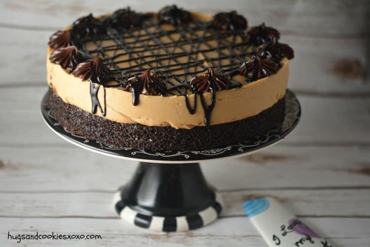 peanut butter cake chocolate cake