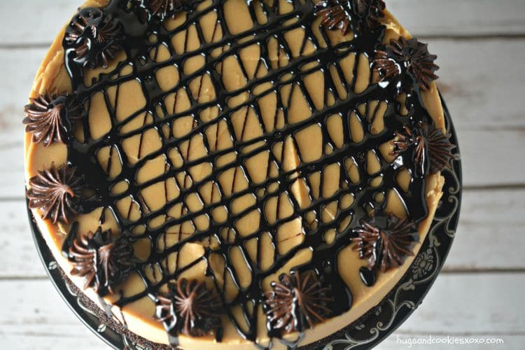 peanut butter cake topping