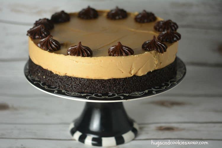 Peanut Butter Truffle Chocolate Cake - Hugs and Cookies XOXO