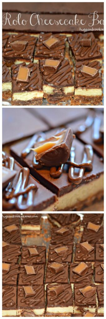 rolo bars cheesecake candies