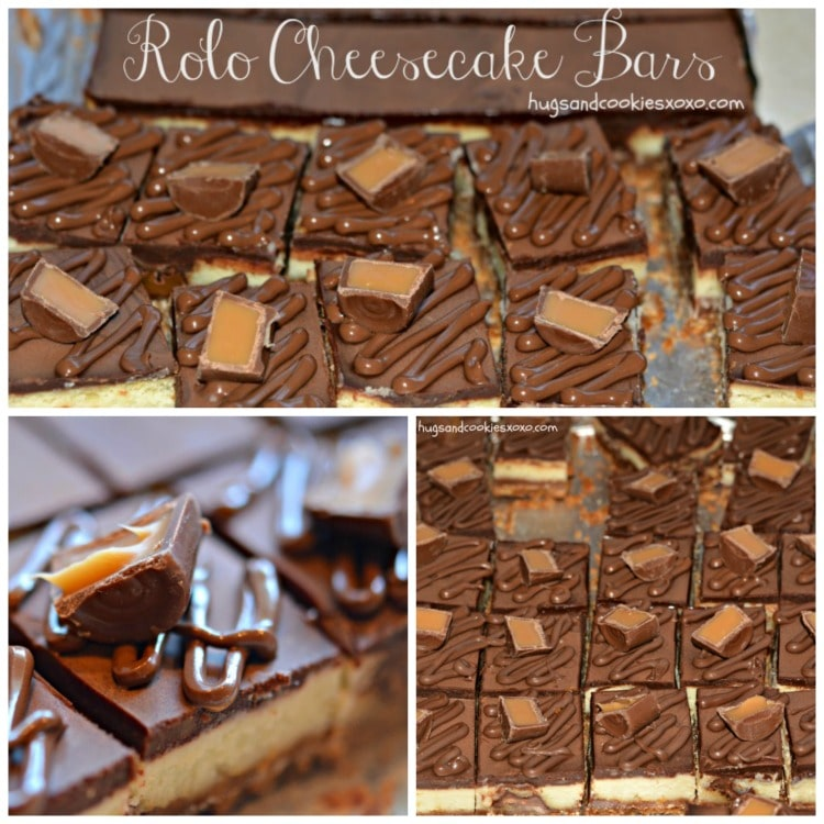 rolo bars cheesecake candy