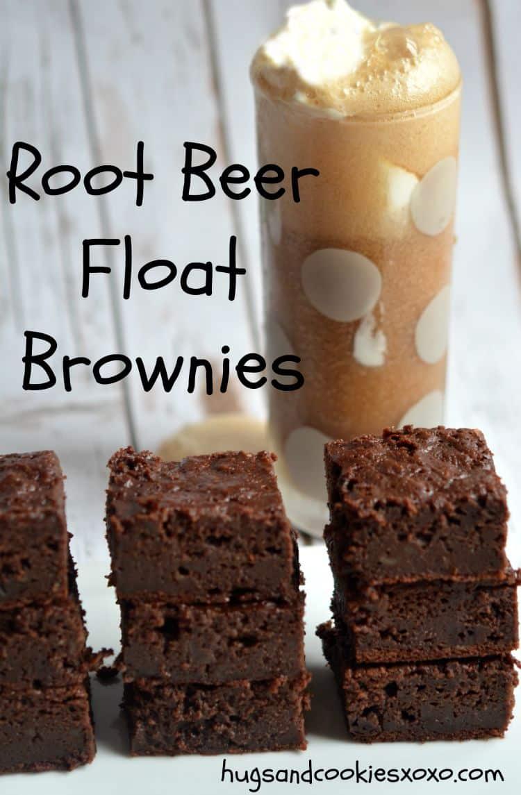 Root Beer Float Brownies Hugs And Cookies Xoxo
