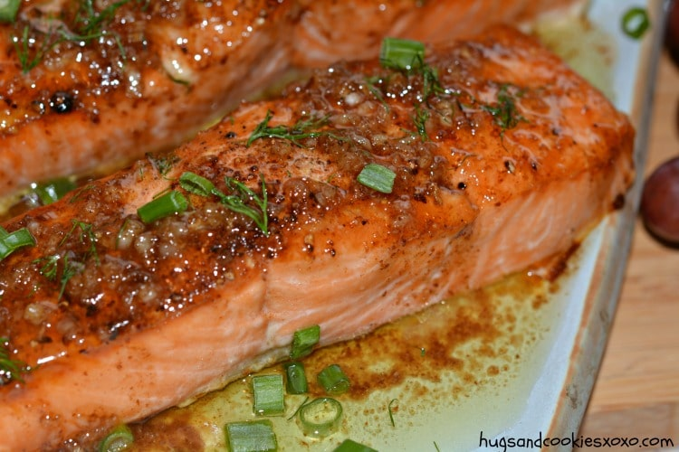 salmon browned butter