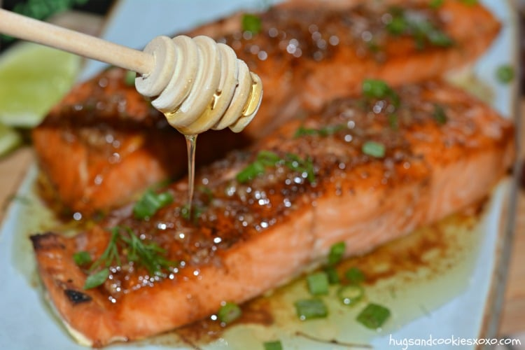 salmon butter garlic
