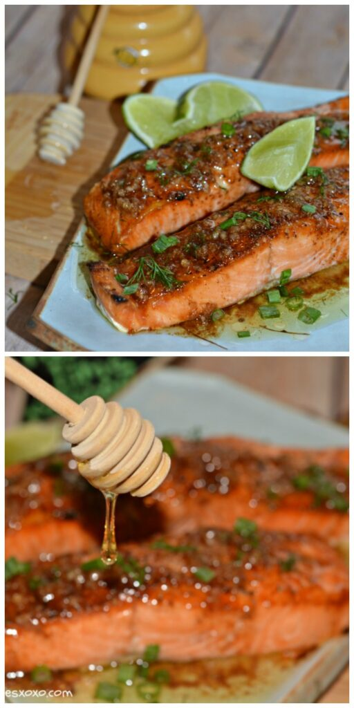 salmon garlic lime zest
