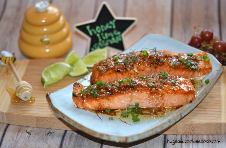 salmon honey lime