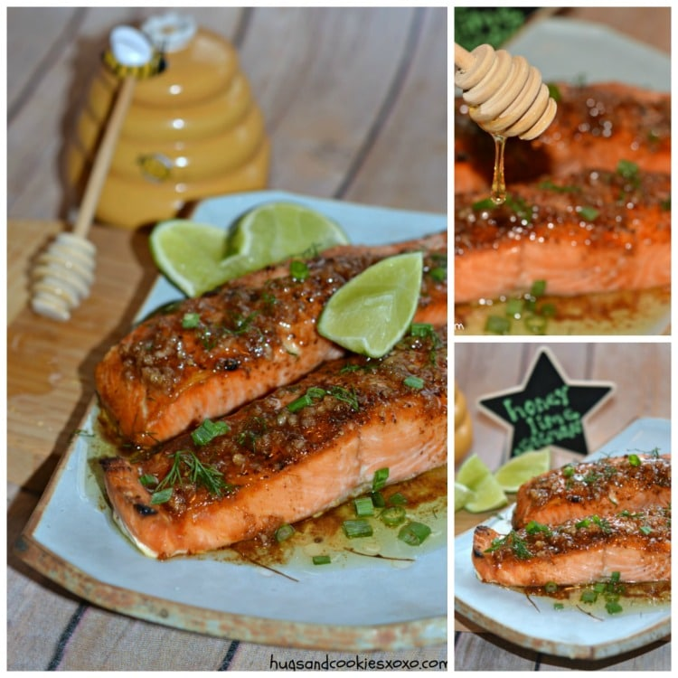 salmon lime garlic