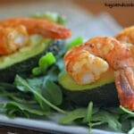 Lime Shrimp Avocado Cups