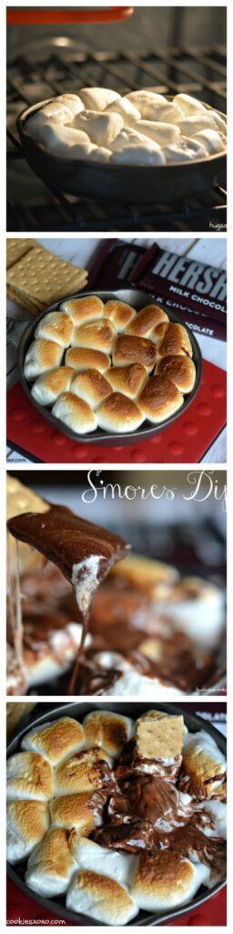smores dip dessert