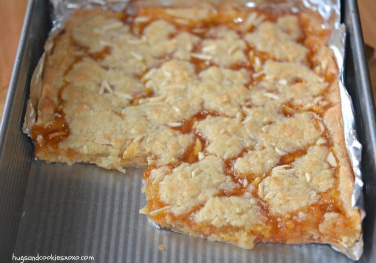 apricot almond bar