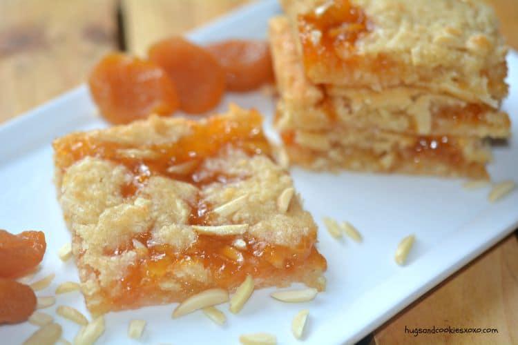 Coconut Almond Apricot Bars Hugs And Cookies Xoxo