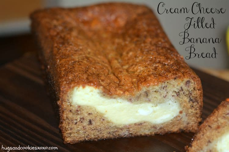 banana bread cream cheese