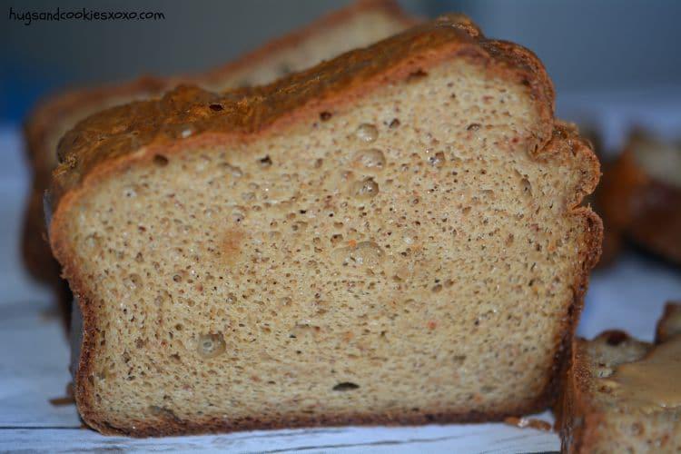 cashew bread slice
