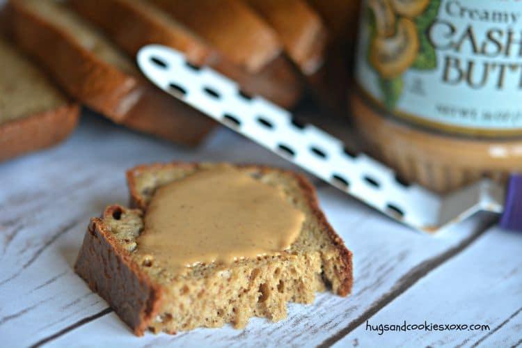 cashew butter bread