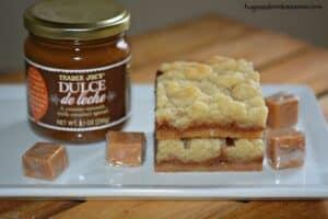 Dulce De Leche butter Bars