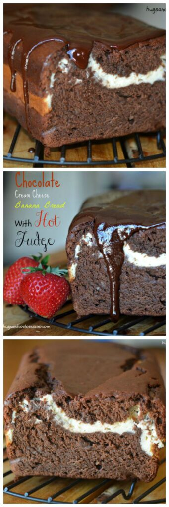 hot fudge cheesecake chocolate bread
