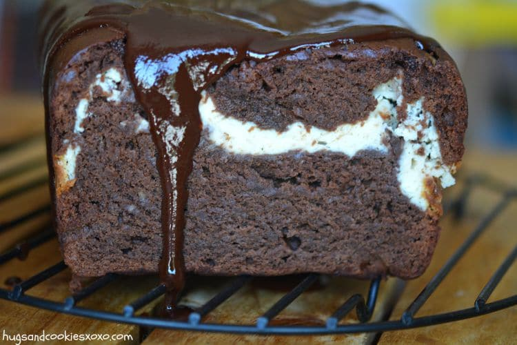 hot fudge cream cheese cake chocolate