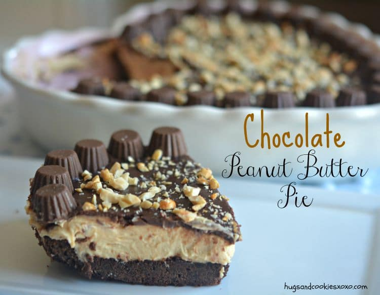 pb chocolate pie reeses