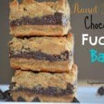 Peanut Butter Fudge Filled Bars