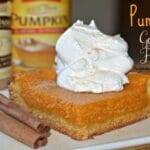 Pumpkin Gooey Bars