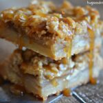Apple Pie Bars with Caramel