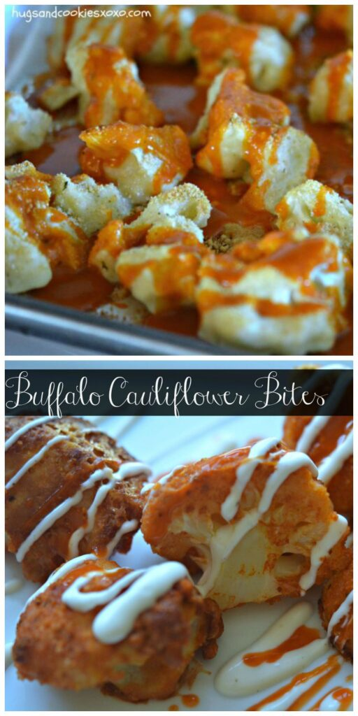 buffalo cauliflower bites hot suace