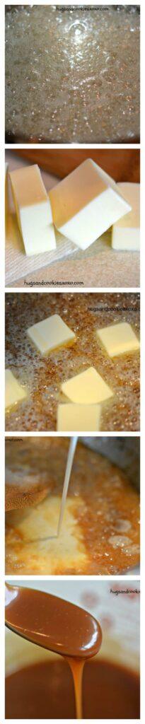 caramel homemade sea salt