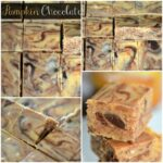 Pumpkin Chocolate Fudge