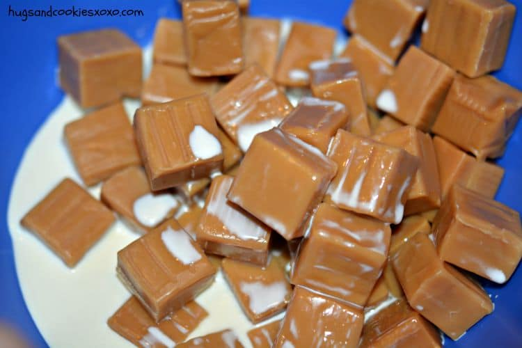 twix caramels kraft