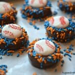 Mets Chocolate Dipped Oreos