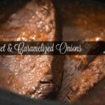 Slow Cooker Brisket With Caramelized Onions