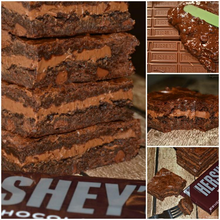 hershey stuffed brownies