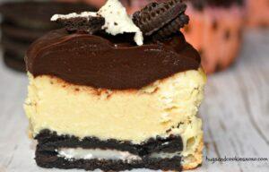 Mini Mascarpone Oreo Cheesecakes With Chocolate Ganache