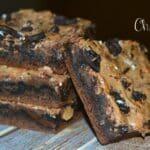 Oreo Chocolate Gooey Cake Bars